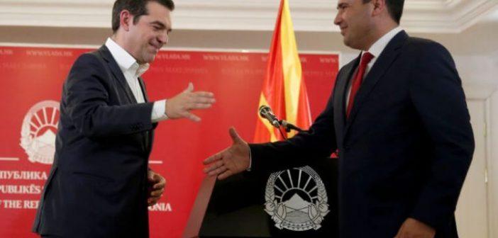 Τσίπρας – Ζάεφ: Ελληνικά μαχητικά θα επιτηρούν τον εναέριο χώρο – Ανοίγουν πρεσβείες