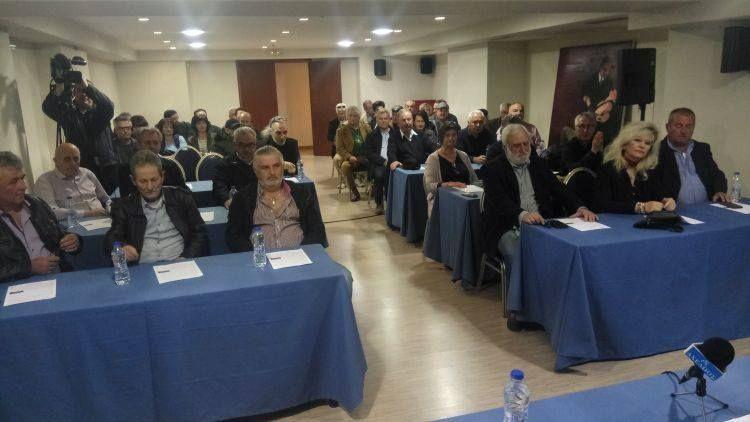 Παρουσίαση υποψηφίων περιφερειακών συμβούλων της «Αντίστασης Πολιτών» (ΦΩΤΟ)