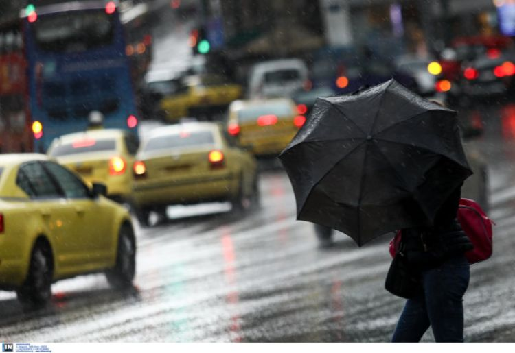 Καιρός σήμερα: Βροχές και καταιγίδες μετά το μεσημέρι