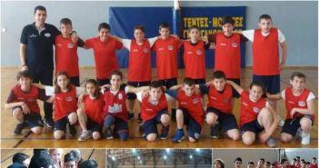 Φιλικές αναμετρήσεις για τις Ακαδημίες μπάσκετ του Χαρίλαου Τρικούπη στη Ναύπακτο