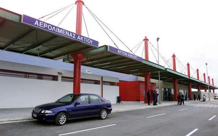 Αεροδρόμιο Ακτίου: «Βουτιά» πάνω του 90% κατέγραψε η επιβατική κίνηση