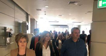 Επίσκεψη Σταρακά στο Νοσοκομείο Αγρινίου (ΔΕΙΤΕ ΦΩΤΟ)