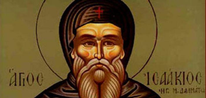 Όσιος Ισαάκιος: Ο Ομολογητής ηγούμενος Μονής Δαλμάτων τιμάται ...