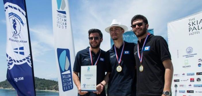 """Πρώτη θέση για δύο Αστακιώτες στο γνωστό αγώνα ιστιοπλοΐας """"The Skiathos Palace Cup"""" (ΦΩΤΟ)"""