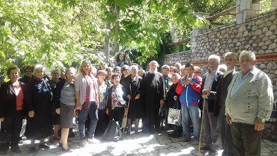 Προσκυνηματική εκδρομή του ΚΑΠΗ Καινουργίου, στη Θήβα και την Αγία Ιερουσαλήμ (ΔΕΙΤΕ ΦΩΤΟ)