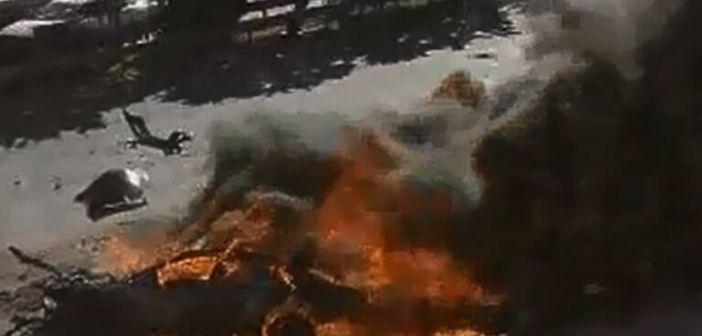 Αρκαδία: Θρίλερ με απανθρακωμένο πτώμα μέσα σε αυτοκίνητο – Σκληρές εικόνες στην εθνική οδό Μεγαλόπολης – Καλαμάτας!