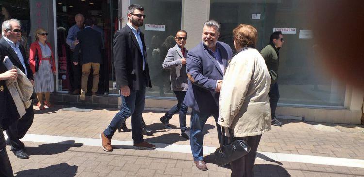 Στο Κέντρο της Ιερής Πόλης Μεσολογγίου ο Δήμαρχος Νίκος Καραπάνος (ΔΕΙΤΕ ΦΩΤΟ)