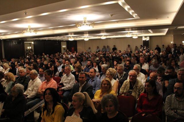 Ξηρόμερο: Με πολύ κόσμο η ομιλία του Ερωτόκριτου Γαλούνη στους ετεροδημότες της Αθήνας (ΔΕΙΤΕ ΦΩΤΟ)