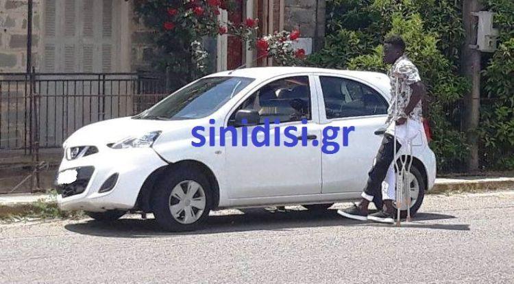 Σε τροχαίο ατύχημα στο Καινούργιο ενεπλάκη ο Καμαρά του Παναιτωλικού(ΔΕΙΤΕ ΦΩΤΟ)