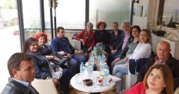 Περιοδεία Καραμητσόπουλου σε Αγγελόκαστρο και Μεγάλη Χώρα (ΦΩΤΟ)