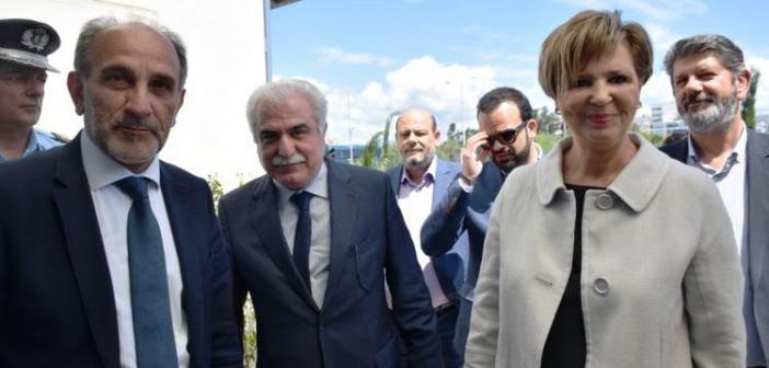 Η Περιφέρεια ενισχύει με εξοπλισμό την Ελληνική Αστυνομία – Συνάντηση Κατσιφάρα με Γεροβασίλη και Ανδρικόπουλο (ΦΩΤΟ)