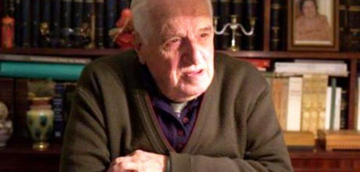 """Δυτική Ελλάδα: """"Έφυγε"""" ο ιστορικός Βασίλης Λάζαρης – Ήταν ένα μεγάλο κεφάλαιο για την Πάτρα"""