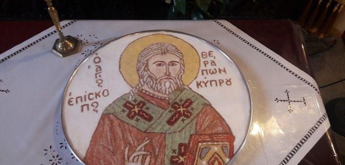 Εορτή του Αγίου Θεράποντος στο μαρτυρικό Λέχοβο