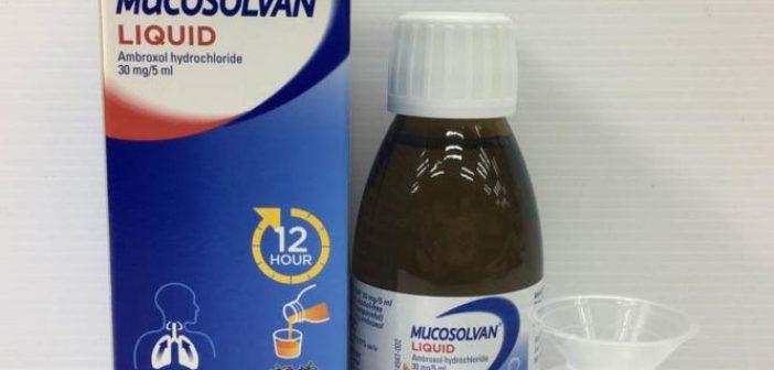 ΕΟΦ: Ανακαλούνται παρτίδες του MUCOSOLVAN – Απαγορεύεται η χορήγηση σε παιδιά κάτω των 2 ετών