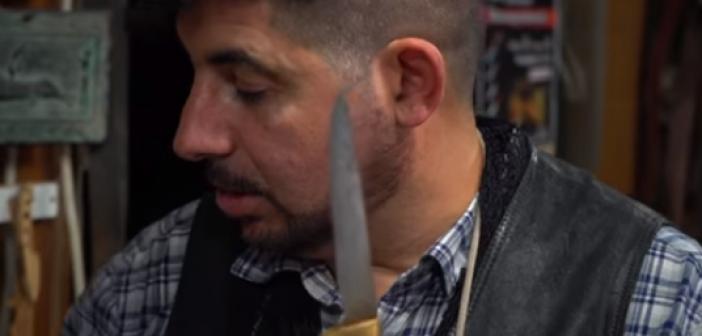 H τέχνη της μαχαιροποιίας από τον Νίκο Ρούσσο (ΔΕΙΤΕ VIDEO)