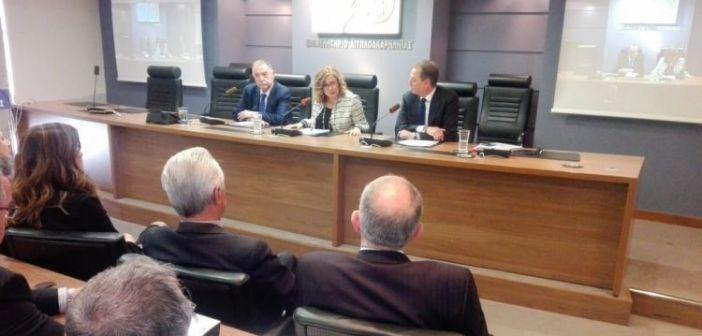 Αγρίνιο: Εκδήλωση στο Επιμελητήριο Αιτωλοακαρνανίας με ομιλήτρια τη Μαρία Σπυράκη (ΔΕΙΤΕ ΦΩΤΟ)