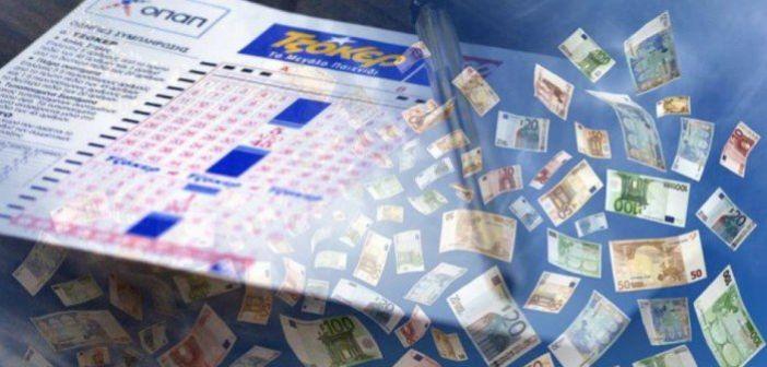 Νέο τζακ ποτ στο Τζόκερ: Τέσσερα πεντάρια κερδίζουν από 27.145 ευρώ