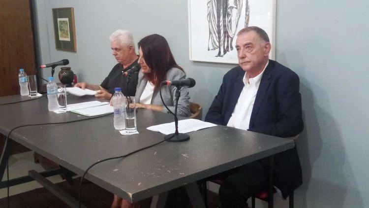 Αγρίνιο: Παρουσιάστηκε το λεύκωμα «Βασίλης Παπασάικας – Σχέδια» (ΔΕΙΤΕ ΦΩΤΟ)