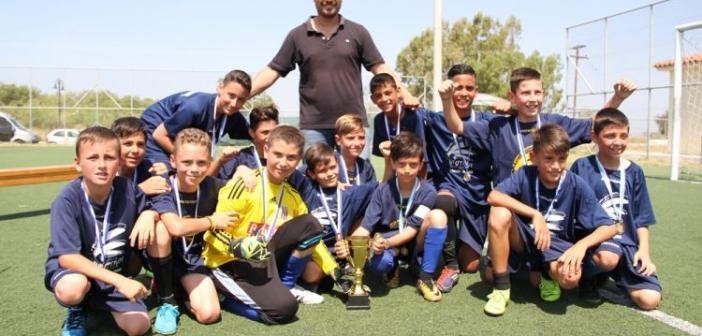 Στα Καναρίνια Αγρινίου το πρωτάθλημα Κ12 της ΕΠΣ Αιτωλοακαρνανίας