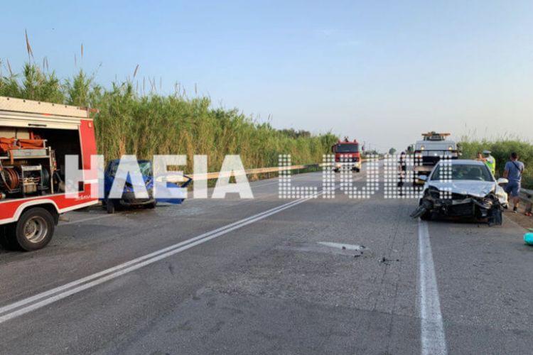 Δυτική Ελλάδα: Σφοδρή σύγκρουση οχημάτων στην Ανδραβίδα – Τραυματίστηκε σοβαρά 27χρονη (ΔΕΙΤΕ ΦΩΤΟ)