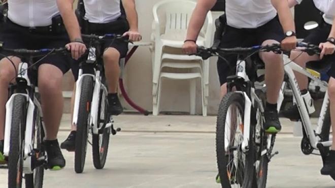 Αστυνομικοί ποδηλάτες και στην Πάτρα