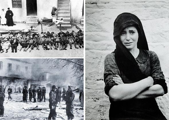 10 Ιουνίου 1944 , η σφαγή του Διστόμου – ένα μοναδικό κινηματογραφικό ντοκουμέντο από τη ναζιστική θηριωδία (VIDEO)