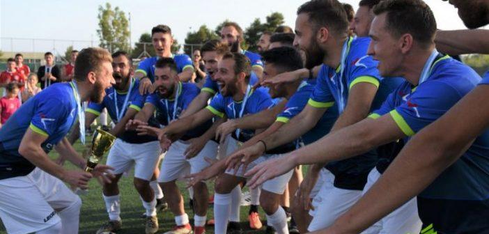 Η στέψη και η φιέστα της πρωταθλήτριας ΑΕΜ (ΦΩΤΟ)
