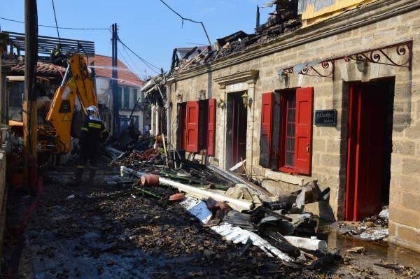 Ακόμη μία αναβολή στη δίκη για την μεγάλη πυρκαγιά στο κέντρο της Λευκάδας