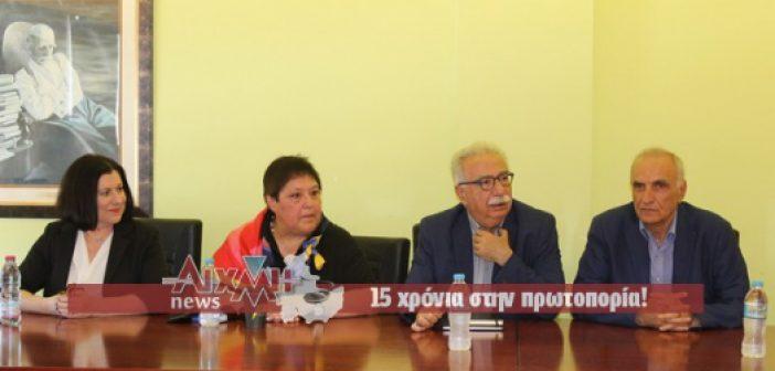 Τι συζητήθηκε στην επίσκεψη Γαβρογλου στο Μεσολόγγι