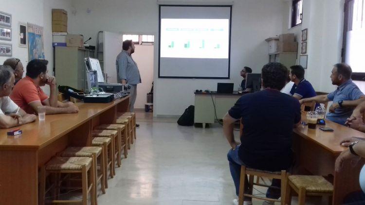 Με ενδιαφέρον η εκδήλωση του Σ.Ε.Η. Αιτωλοακαρνανίας για τα smart panels