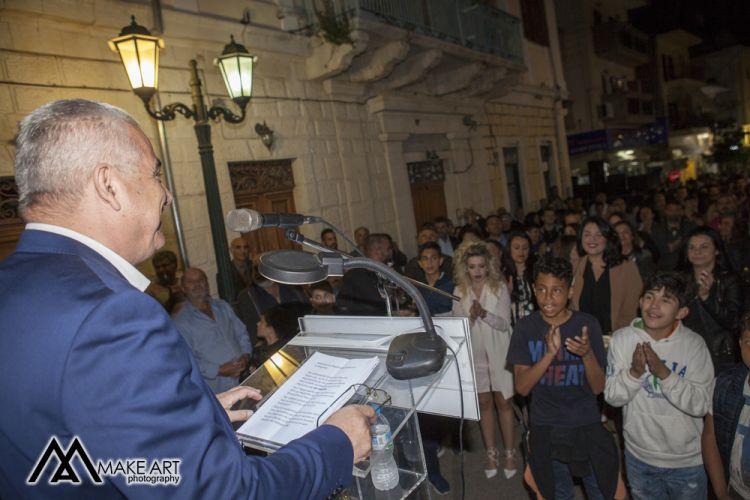 Ξηρόμερο: Με επιτυχία η κεντρική ομιλία του Ερωτόκριτου Γαλούνη (ΔΕΙΤΕ ΦΩΤΟ)