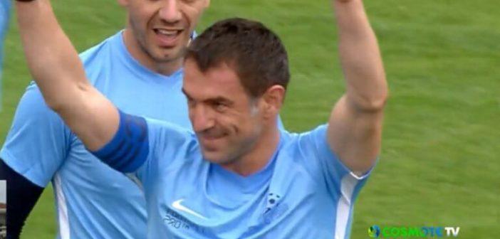 Λευκάδα: Γκολάρες οι Έλληνες All Star στην ήττα από τη Μονακό 2004! (VIDEO)
