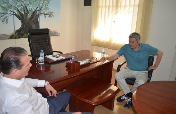 Επίσκεψη Κ. Καραγκούνη στην Ένωση Αγρινίου (ΔΕΙΤΕ ΦΩΤΟ)