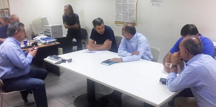 Για τις εξελίξεις στο εργοστάσιο της Frigoglass ενημερώθηκε από τους εργαζόμενους ο Περιφερειάρχης Δυτικής Ελλάδας Απόστολος Κατσιφάρας