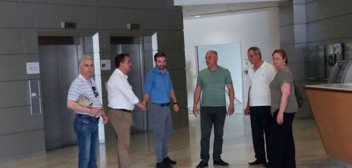 Δημήτρης Κωνσταντόπουλος: «H Κυβέρνηση επέδειξε ολιγωρία στην επίλυση των προβλημάτων του νοσοκομείου Αγρινίου» (ΦΩΤΟ)