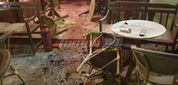 Δυτική Ελλάδα: Νύχτα τρόμου στην Τριών Ναυάρχων – Κουκουλοφόροι επιτέθηκαν με καπνογόνα σε κατάστημα εστίασης – Ένας τραυματίας, μεγάλη η κινητοποίηση της ΕΛ.ΑΣ (VIDEO + ΦΩΤΟ)