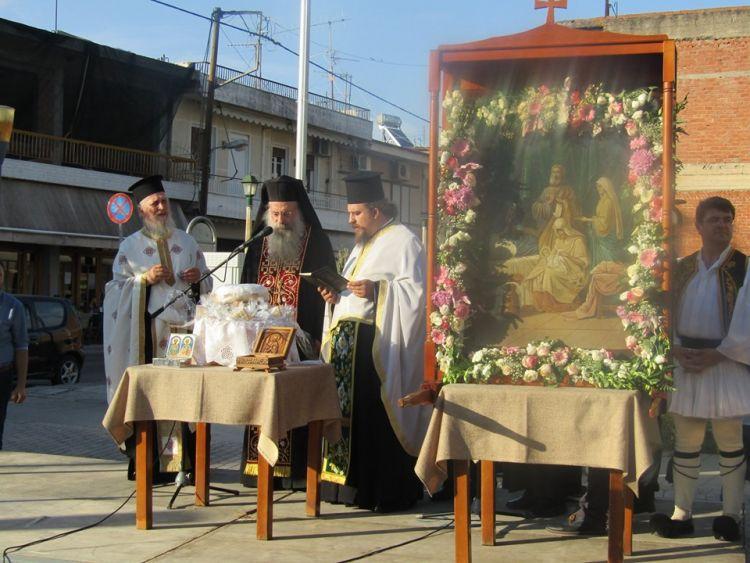 Δοκίμι: Λιτάνευση της εικόνας του Αγίου Ιωάννη (ΔΕΙΤΕ ΦΩΤΟ)