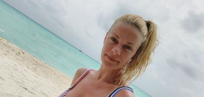 Ζέτα Μακρυπούλια: Στην παραλία μετά την ανανέωση της συνεργασίας με τον Ant1! (ΔΕΙΤΕ ΦΩΤΟ)
