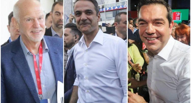 Κόντρα κορυφής για Τσίπρα, Μητσοτάκη και Παπανδρέου στην Αχαΐα