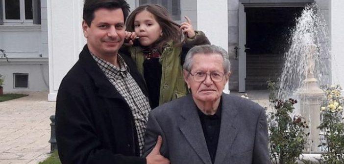 """Δυτική Ελλάδα: Πένθος για την οικογένεια του υποψηφίου Δημάρχου Πατρέων Πέτρου Ψωμά – """"Έφυγε"""" ο πατέρας του"""
