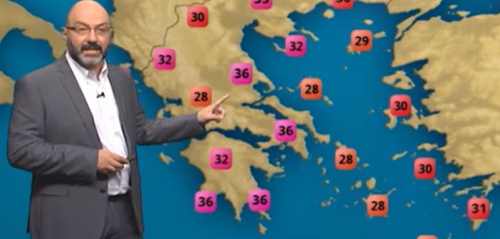 """Σάκης Αρναούτογλου: Σε λίγες ώρες έρχεται ο """"Αντίνοος"""" σε Ιόνιο και Πελοπόννησο (ΔΕΙΤΕ ΧΑΡΤΗ)"""