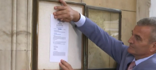 Εκλογές 2019: Θυροκολλήθηκε το διάταγμα για την διάλυση της Βουλής (ΔΕΙΤΕ VIDEO)