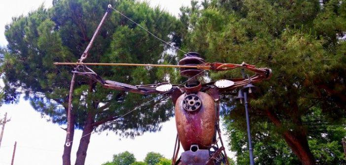 Καλύβια Αγρινίου: Ο Τοξότης με το χρυσό βέλος (ΔΕΙΤΕ ΦΩΤΟ)