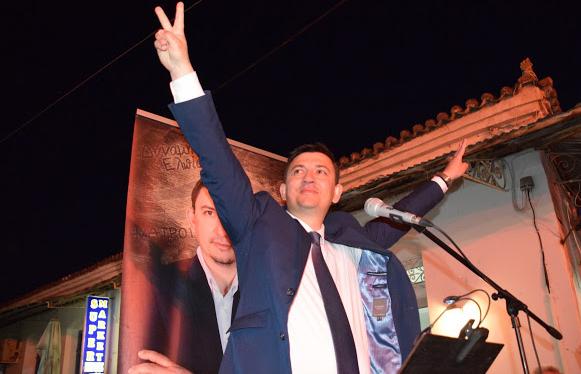 Δήμος Ξηρομέρου: Νικητής με ποσοστό 75,91% ο Γιάννης Τριανταφυλλάκης