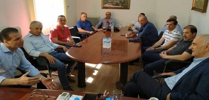 Επίσκεψη Βαρεμένου στην Ένωση Αγρινίου