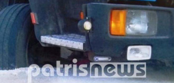 """Δυτική Ελλάδα: Ο δρόμος """"κατάπιε"""" φορτηγό! (ΔΕΙΤΕ ΦΩΤΟ)"""