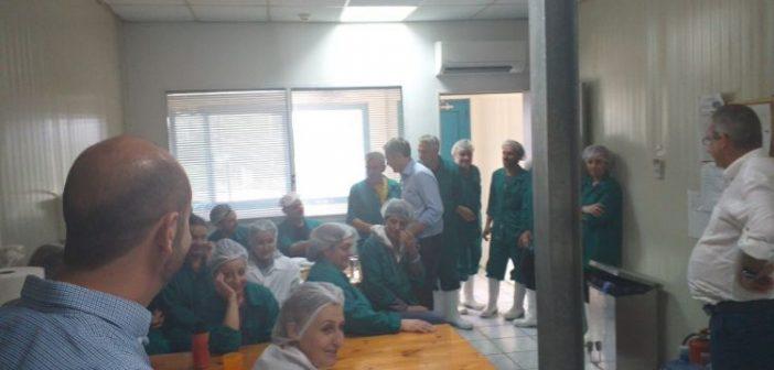 """Βόνιτσα: Επίσκεψη Κ. Καραγκούνη στον όμιλο """"Ανδρομέδα"""" (ΦΩΤΟ)"""