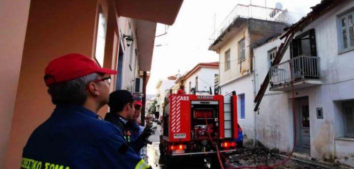 Φωτιά σε σπίτι στο Ναύπλιο – Ηλικιωμένη έχασε τη ζωή της (ΔΕΙΤΕ ΦΩΤΟ)