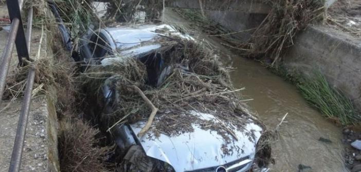 Καιρός – Ναύπακτος: «Φωτογραφίζουν» την Ιόνια Οδό για τις πλημμύρες