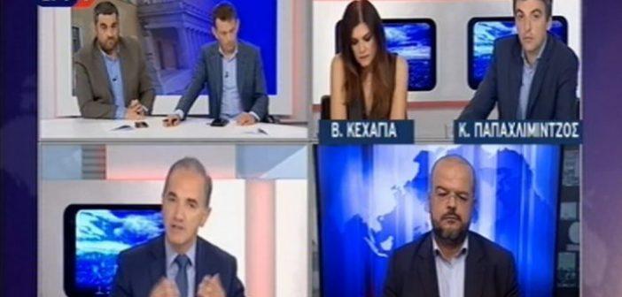 Άγριος καβγάς στην ΕΡΤ με Σαλμά και δημοσιογράφους: «Είναι ντροπή… δεν με αφήνετε να μιλήσω»